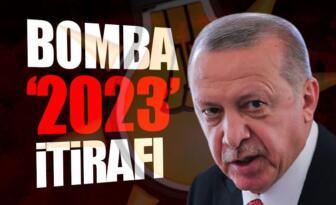 Erdoğan'dan itiraf geldi!